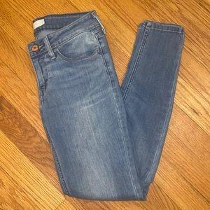 Levi's Skinny Jeans 26 Light Wash Ankle Length